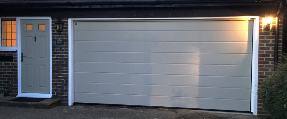 Matching front and garage door