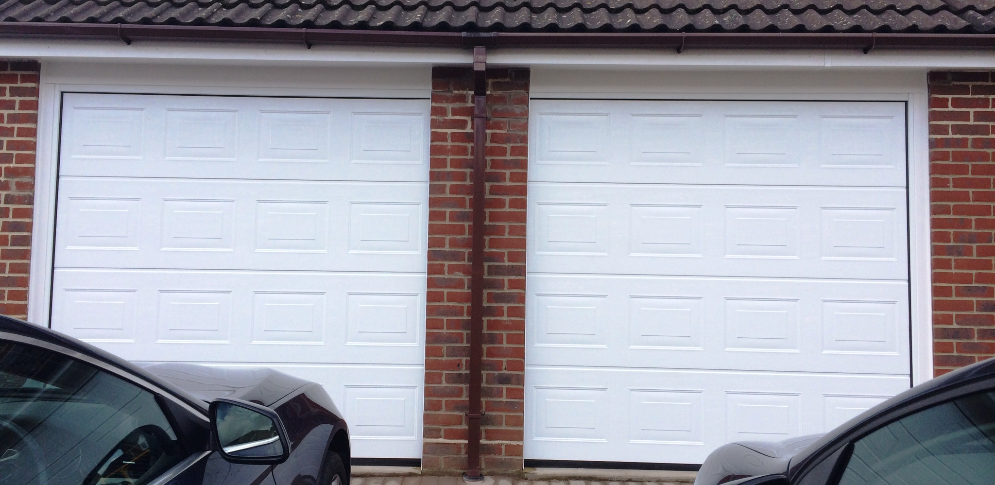 Wider garage doors for modern cars