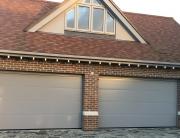 Colour matched garage doors