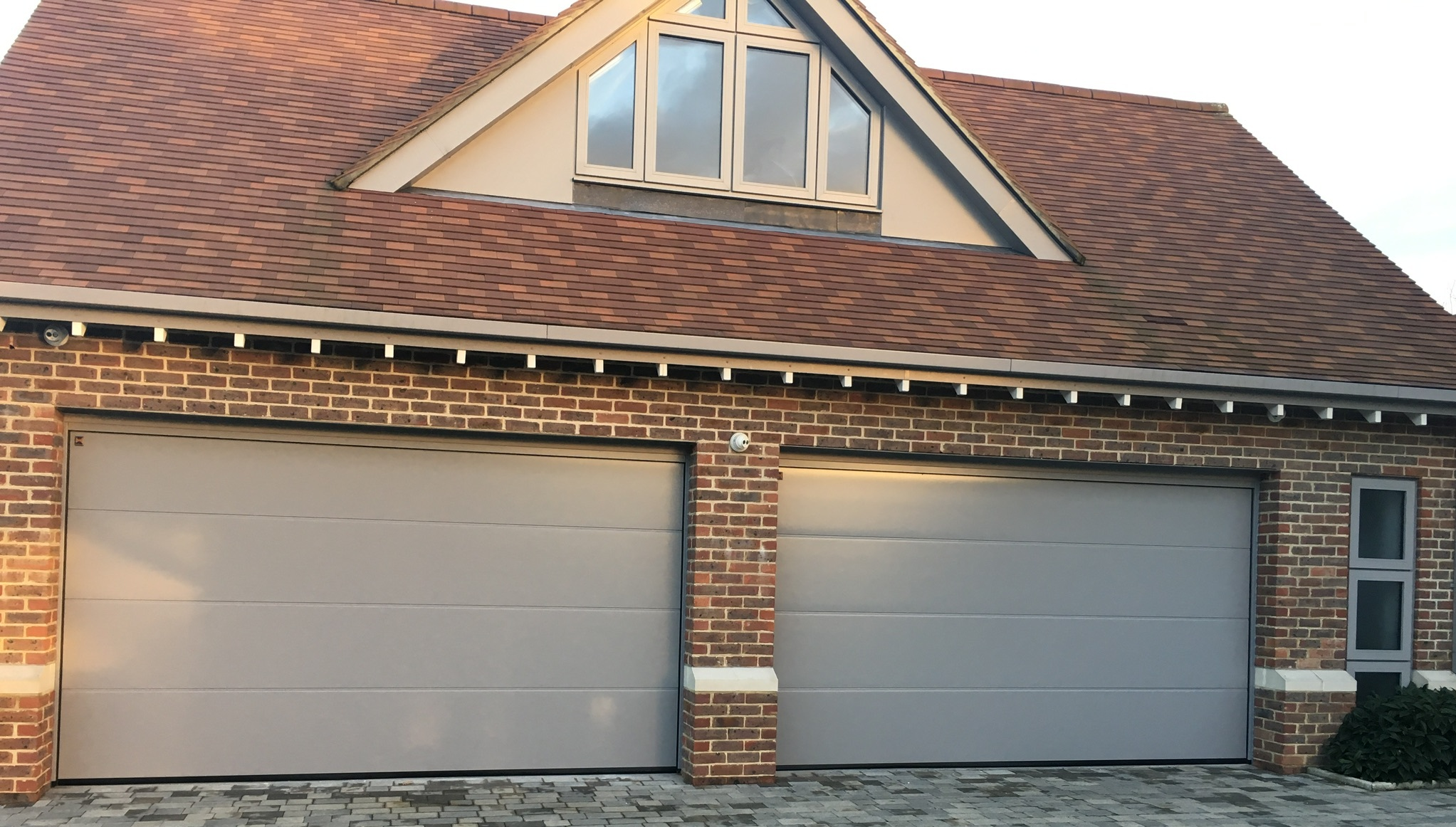 Colour matched garage doors