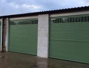 Secure roller garage doors