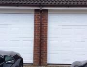 Wider garage doors for modern cars