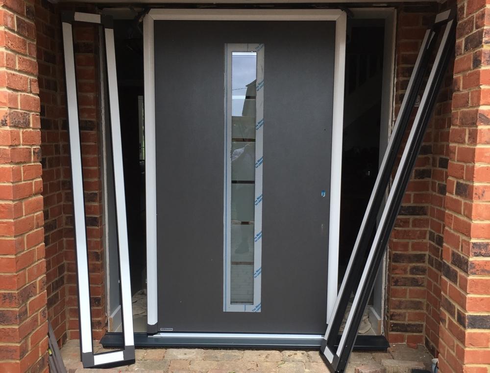 Installing a Hormann front door