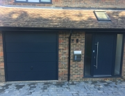 Garage door colour match Anthracite RAL 7016