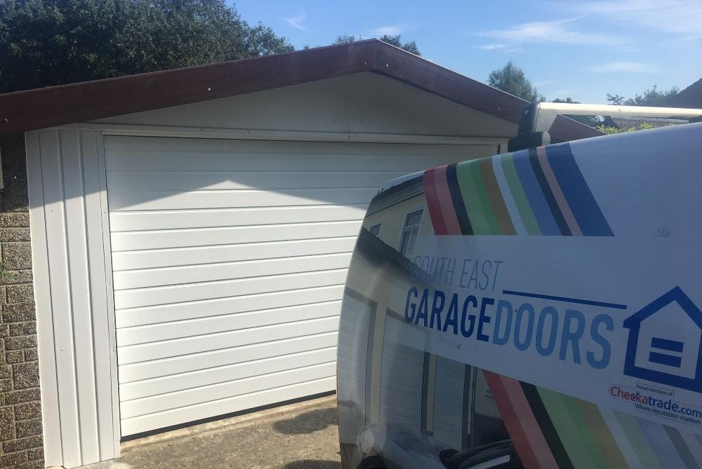 Prefab garage door solution