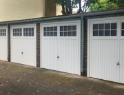 New garage doors for garage bloc