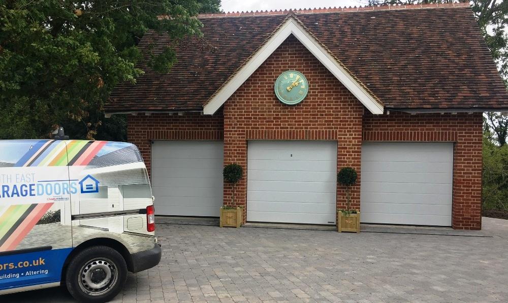 Colour-match garage doors