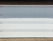 Hormann T-ribbed double garage door
