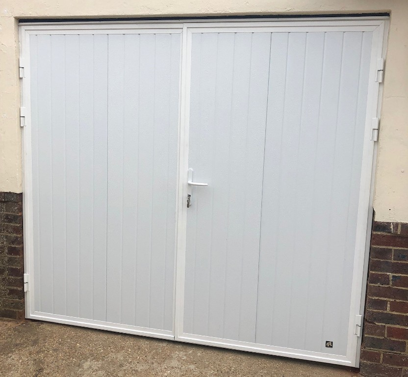 Side-opening Ryterna garage doors in Seaford